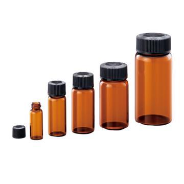 亚速旺(ASONE)透明样品瓶(硼硅酸玻璃)茶色 No.1 100个/箱,1-8129-04