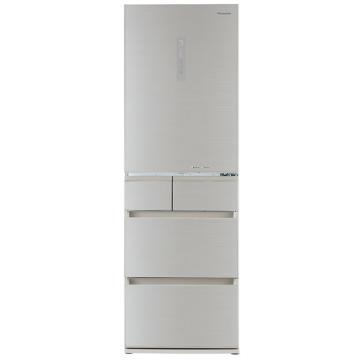 松下 435L多门冰箱,NR-E450PX-NH,风冷无霜,纳米水离子除菌,自动制冰