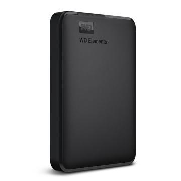 西部数据移动硬盘,WDBUZG0020BBK 2.5寸 2T USB3.0 Elements 新元素系列 黑色
