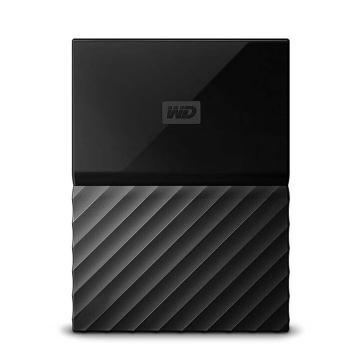 西部数据移动硬盘,WDBYFT0020BBK 2.5寸 2T USB3.0 My Passport 经典黑(密码保护 自动备份)