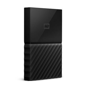 西部数据移动硬盘,WDBYNN0010BBK 2.5寸 1T USB3.0 My Passport 经典黑(密码保护 自动备份)