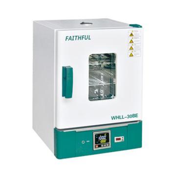 菲斯福 電熱恒溫干燥箱,數碼管顯示,容積/工作室(mm,寬×深×高):30L/310×310×310,WHL-30B