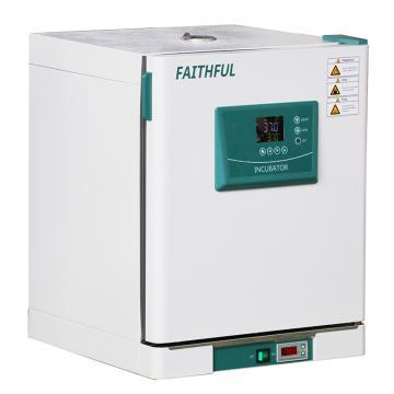 菲斯福 精密电热恒温培养箱,控温:RT+5-70℃,容积/工作室(mm,宽×深×高):45L/350×350×350,DH45L