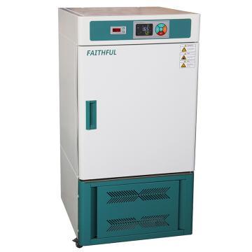 菲斯福 生化培养箱,5.0寸触摸屏,容积/工作室(mm,宽×深×高):70L/420×350×500,SPX70-BL