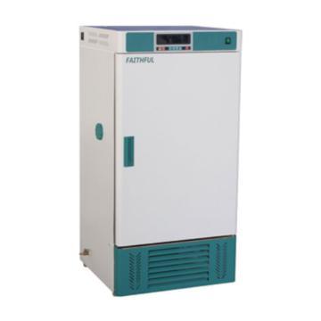 菲斯福 恒温恒湿箱,液晶显示,控温:0~65℃,控湿:45%~95%RH,容积/工作室(mm,宽深高):70L/420×350×500,HWS-70B
