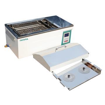 菲斯福 多功能水浴搖床,液晶顯示,控溫:RT~100℃,容積/水槽(mm,寬深高):31L/500×310×200,FWS-30