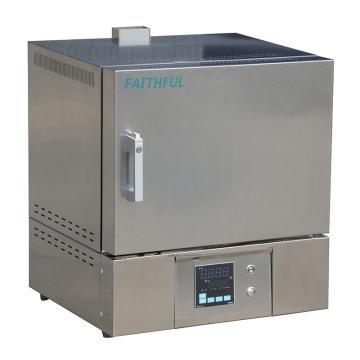 菲斯福 陶瓷纤维马弗炉,100-1200℃,液晶程序控温,容积/炉膛(宽×深×高mm):2L/120×200×80,SX4-2-12PB