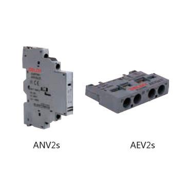 德力西DELIXI 电动机保护断路器附件 ANV2s(CDV2s 侧装辅助) 2NO