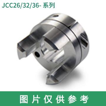Ruland JCC-梅花联轴器轮毂,夹紧式,英制,带键槽,JCC16-6-A