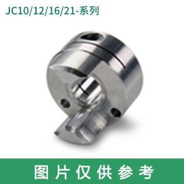 Ruland JC-梅花联轴器轮毂,夹紧式,英制,JC10-2-A