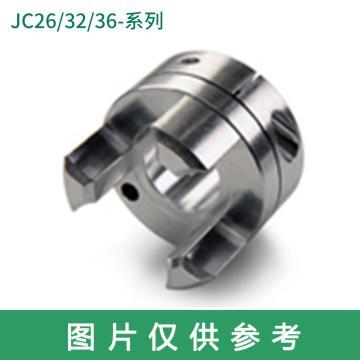 Ruland JC-梅花联轴器轮毂,夹紧式,英制,JC12-5-A