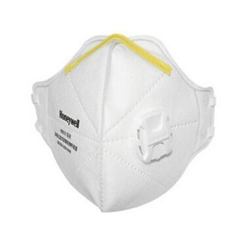 霍尼韦尔Honeywell 防尘口罩,H1005590V,H901V KN95 折叠式口罩 白色 头带式 带阀,25只/盒