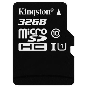 金士頓存儲卡,32GB?TF(Micro?SD)?存儲卡?U1?C10?高速升級版?連續拍攝更流暢?終身保固