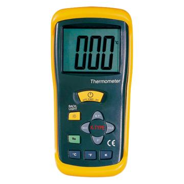亚速旺/Asone 经济型数字式温度计,双温/可试定超低温 CC-3225-03