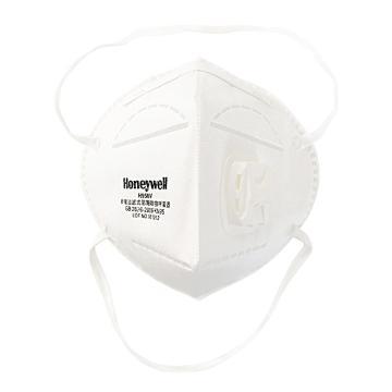 霍尼韋爾Honeywell 防塵口罩,H1009502V,H950V KN95折疊式口罩 白色 頭帶式,環保裝 25 只/盒