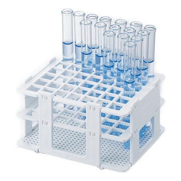 亚速旺(ASONE)塑料试管架 18748-0013 φ13mm(1台)用(1个),2-4753-01