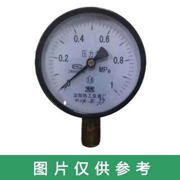 热工 压力表 Y-50 M14*1.5 0-1.6MPa