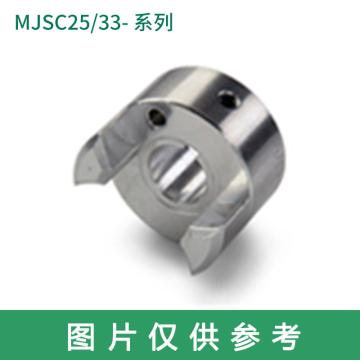 Ruland MJSC-梅花联轴器轮毂,紧定螺钉式,公制,带键槽,MJSC51-25-A