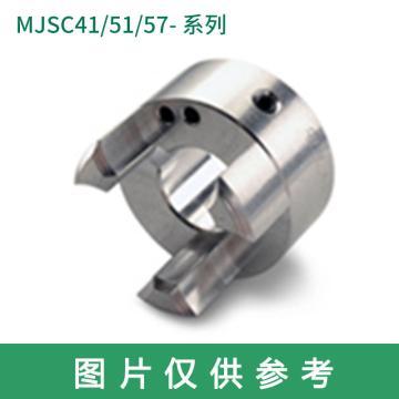 Ruland MJSC-梅花联轴器轮毂,紧定螺钉式,公制,带键槽,MJSC57-30-A