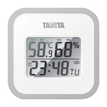 百利达/TANITA 数字温湿度计,黑色 TT-538