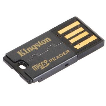 金士頓讀卡器,USB?2.0?TF(Micro?SD)讀卡器(FCR-MRG2)
