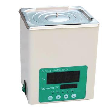 菲斯福 电热恒温水浴锅,控温:RT+5~100℃,容积/内尺寸(宽深高mm):3L/150×135×150,DK-2000-IIIL(单孔)