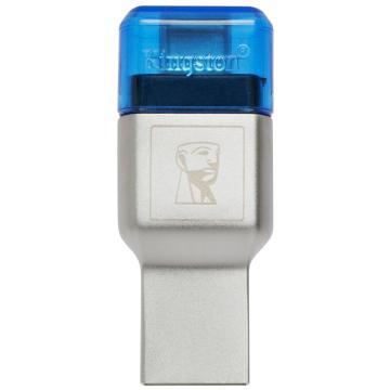 金士頓讀卡器,?USB?3.1?TF(Micro?SD)雙接口讀卡器(FCR-ML3C)