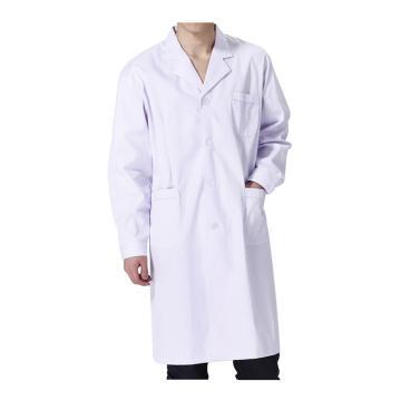 实验室大褂,白色,涤棉,长袖,2XL(同系列10件起订)