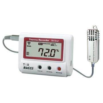 T&D 温湿度记录仪(高精度大范围型),TR-72nw-S