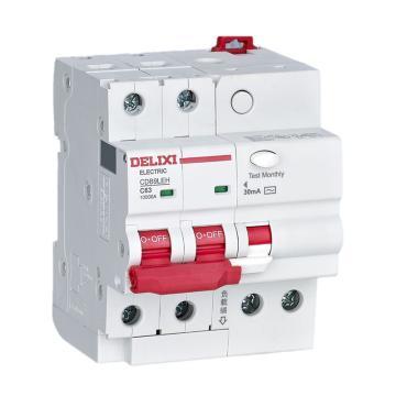 德力西 DELIXI 漏電保護斷路器 CDB9LEN-32 6kA 1P+N C型16A 300mA