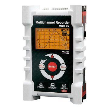 T&D 电压/温度数据记录仪(MCR-4系列),MCR-4V