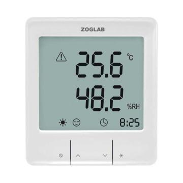 佐格/ZOGLAB 大屏幕智能温湿度计,SMART