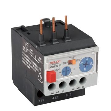 德力西 DELIXI 热过载继电器 CDR9i-18 9-12A(不带快速接线柱)
