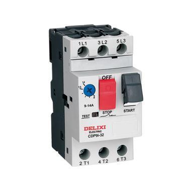 德力西 DELIXI 电动机断路器 CDP9i-32 1-1.6A RoHS