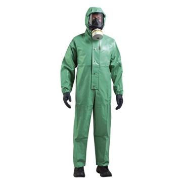 霍尼韦尔Honeywell C级防化服,N71254210-L,喷雾致密型防化服