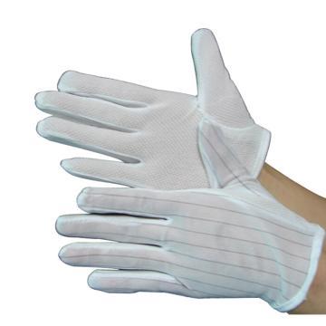 凌致點塑防靜電手套,LZ03003-S,10雙/包 100包/箱 單位:包