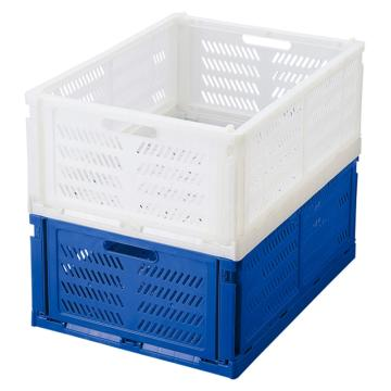 亚速旺(ASONE)实验室用折叠箱(小巧型) 白色 PC-SWH,4-760-01