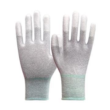 凌致防靜電針織PU涂指手套,LZ03009-M,10雙/包 30包/箱 單位:包