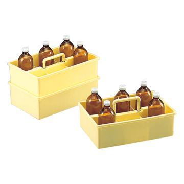 亚速旺(ASONE)试剂瓶托盘(手提型) 360×230×116(1个),3-183-01