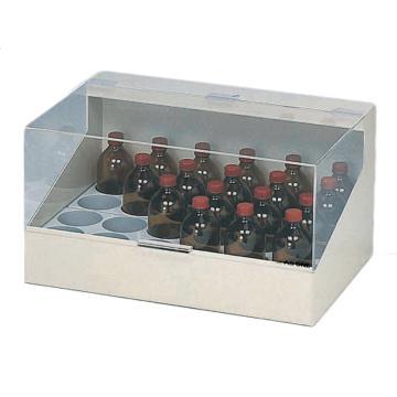 亚速旺(ASONE)试剂瓶整理箱 B-100(1个),3-4082-02