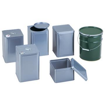 亚速旺(ASONE)金属罐 一斗罐 口径40mm 1个,1-1806-01