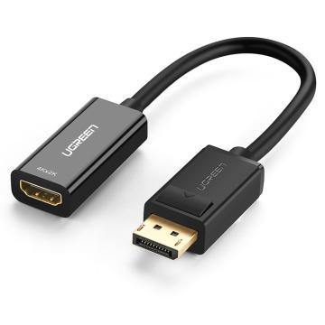 綠聯(UGREEN)DP轉HDMI轉換器線 40363 4K高清