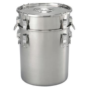 亚速旺(ASONE)实验室用不锈钢密闭罐(带提手) 47.4L UAS-06,4-599-06