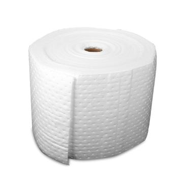 格洁油类卷状吸液棉,40cm×50m×4mm/卷|有分割虚线_白色,1卷/箱 单位:箱