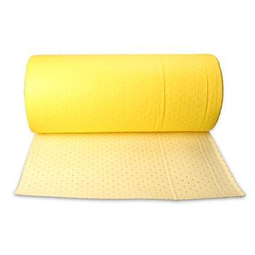 格洁化学品类卷状吸液棉,80cm×30m×3mm/卷|有分割虚线_黄色,1卷/箱 单位:箱
