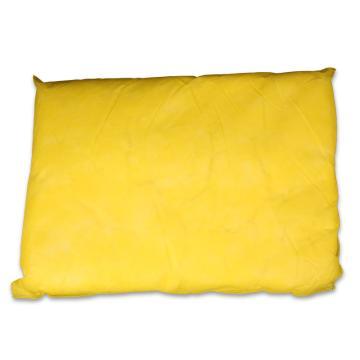 格洁化学品类枕形吸液棉,40cm×50cm×5cm×8个_黄色,8个/箱 单位:箱