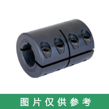 Ruland CLC-一體夾緊式剛性聯軸器,英制,帶鍵槽,碳鋼,CLC-10-10-F