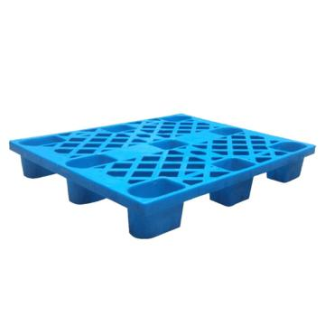 西域推荐 轻型塑料托盘,1000*800*140mm,动载500kg,静载1500kg,蓝色