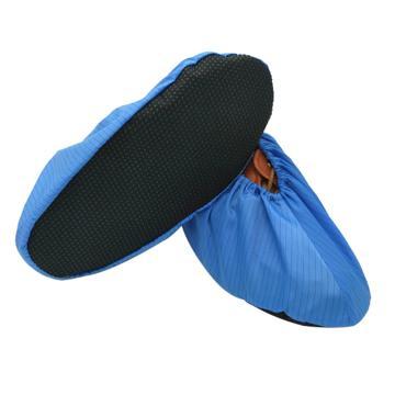 防滑顆粒底鞋套,海藍色