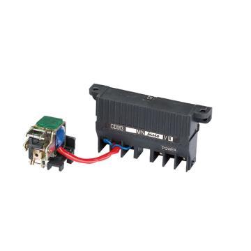 德力西 DELIXI 塑壳断路器附件 欠压脱扣器 欠压脱扣器(左) CDM9i-63/100F/125F AC230V